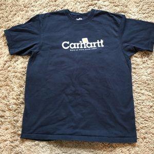 Men's navy blue carhartt T-shirt